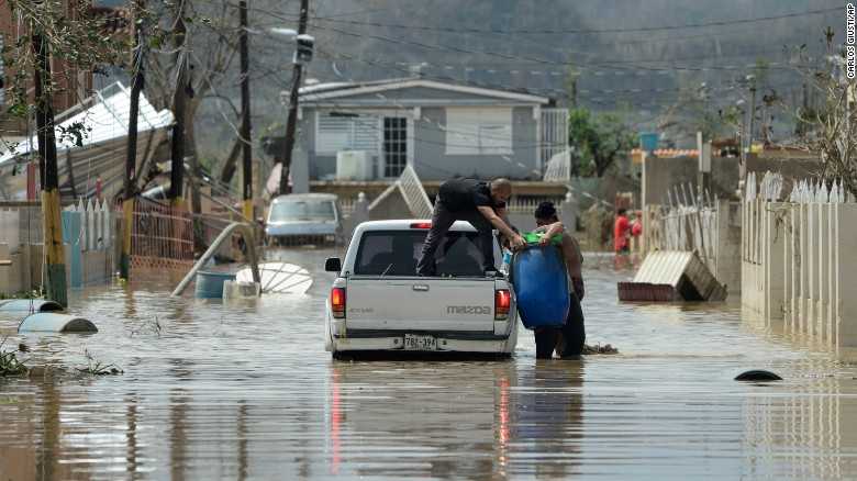 Image result for photos of puerto rico after hurricane maria