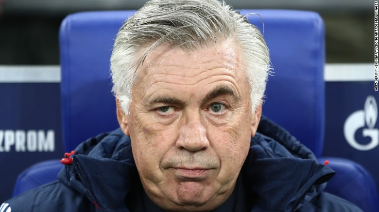 Carlo Ancelotti has managed AC Milan, Chelsea, Real Madrid, PSG and Bayern.