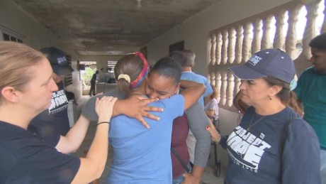 Finding heartbreak, delivering hope in Puerto Rico