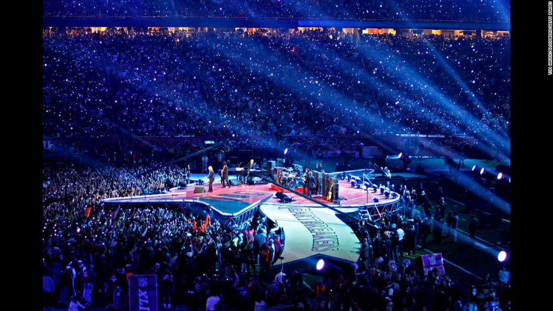 Image result for tom petty superbowl picture