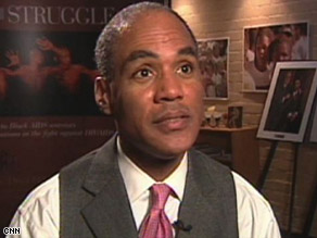 """AIDS in America today is a black disease,"" says Phill Wilson, founder of the Black AIDS institute."