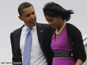 Sen. Barack Obama has told critics to 'lay off my wife,' Michelle Obama.
