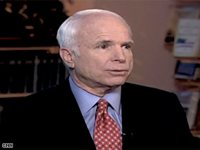 Sen. John McCain's campaign nicknamed Obama 'Dr. No' Tuesday.