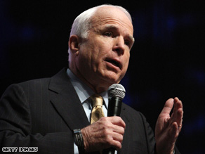 Sen. John McCain wrote an op-ed for The New York Times, but the paper said it could not publish it as written.