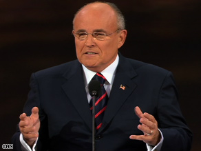 Giuliani left open the prospect of another White House run.