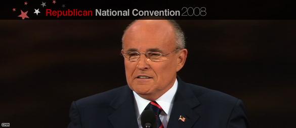 Giuliani rips Obama as 'celebrity senator'