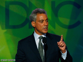 There's mixed emotion to Rahm Emanuel's appointment from Republican and Democratic leaders.