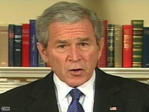 President Bush said Friday that automakers must show they can be profitable businesses by March 31.