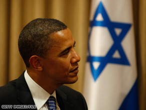 Barack Obama had high hopes for a peace deal when he visited Israel in July.