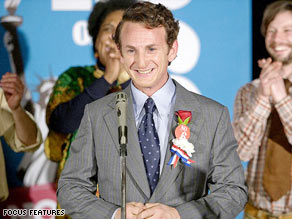 Sean Penn, seen here in his Oscar-winning role as Harvey Milk, is set to return to Haiti.
