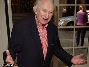 Pulitzer Prize-winning author Studs Terkel died at his home Friday at the age of 96.