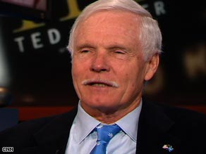 "CNN founder Ted Turner tells the network he's ""encouraged"" by the results of last week's election."