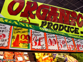 A new study reveals organic foods are not necessarily healthier than non-organic food
