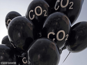 Carbon trading is said to be one way to reduce greenhouse gas emissions.