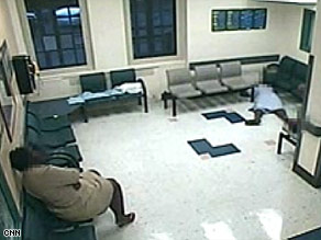 Tape shows woman dying on waiting room floor  CNNcom
