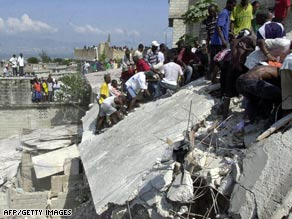 The UN puts the Haiti quake death toll at 222,517 according to this month's report.