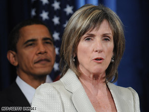 Carol Browner was one of four key environmental nominees named by Obama.