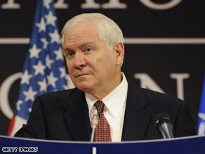 Defense Secretary Robert Gates says Pakistan recognizes that the attackers are a problem.