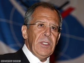 Sergev Lavrov: demanding Russia-America adoptions be frozen.