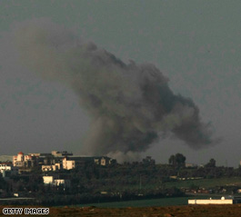 Israeli airstrikes continue on Gaza