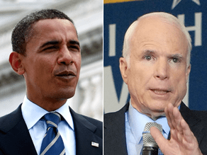 McCain criticized Obama for missing a Senate vote he also missed.