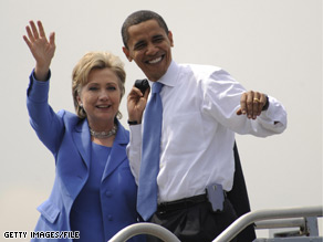 Sen. Clinton will campaign for her former rival in two states this month, according to the Obama campaign.