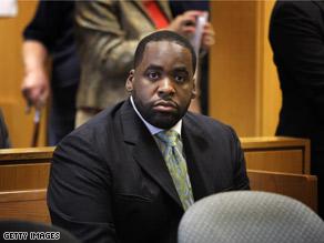 Detroit Mayor Kwame Kilpatrick appeared in court late last week.