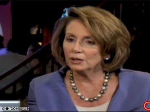 Speaker Pelosi answered questions from CNN.com iReporters in Denver Wednesday.