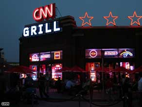 The CNN Grill at the Republican National Convention in St. Paul.