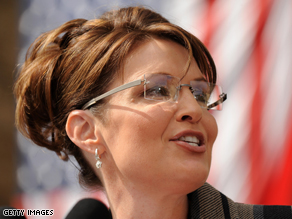 Barack Obama is accusing Palin of trying to 'recreate' herself.