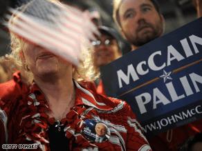 A New CNN Poll of polls show McCain ahead.