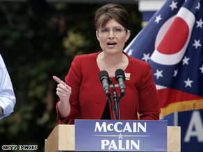 Palin stands firm on her claim to declining the 'Bridge to Nowhere'.