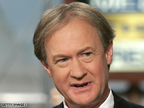 Former Rhode Island Sen. Lincoln Chafee has words for Sarah Palin.