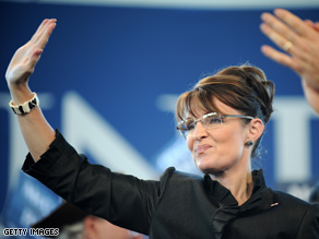 Palin recently returned to the campaign trail after a visit back to Alaska.