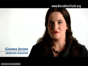 A new Independent ad is targeting Obama's abortion record.