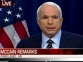 Watch McCain's speech on CNN.com/live
