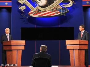 McCain and Obama trade attacks over Iraq.