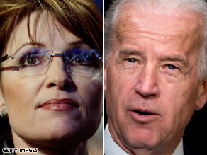 Next up: Sen. Biden will debate Gov. Palin.