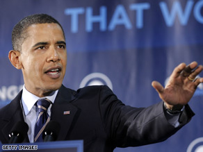 Sen. Obama proposed expanding federal deposit insurance for families and small businesses Tuesday.
