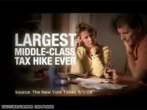 Sen. Obama's new ad targets Sen. McCain's proposal for changing the tax treatment of health care benefits.