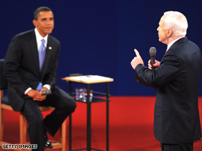 McCain's comment drew an immediate reaction from Obama's campaign.