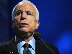 McCain has proposed another economic change.