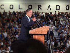 Obama is making gains in several states President Bush won twice.