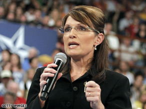 Sarah Palin discussed her political future Tuesday.