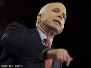 McCain hopes to win over undecided voters tonight.