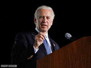 Sen. Biden told John McCain to stop the robo-calls Tuesday.