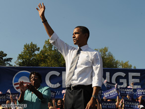 Sen. Obama is running a competitive race in the battleground states.