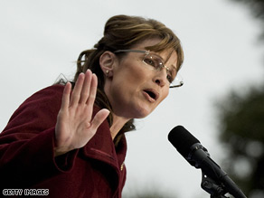 Gov. Sarah Palin reacted to Sen. Ted Stevens' guilty verdict Monday.