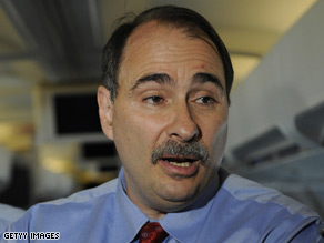 A source tells Candy Crowley that David Axelrod will be named Senior Adviser to the President-elect.