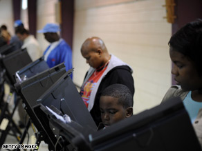 North Carolina had the highest increase in voter turnout, according to a report released Thursday.